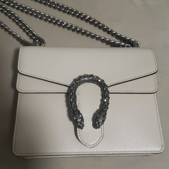 Gucci Handbags - Gucci leather small Dionysus with crystals